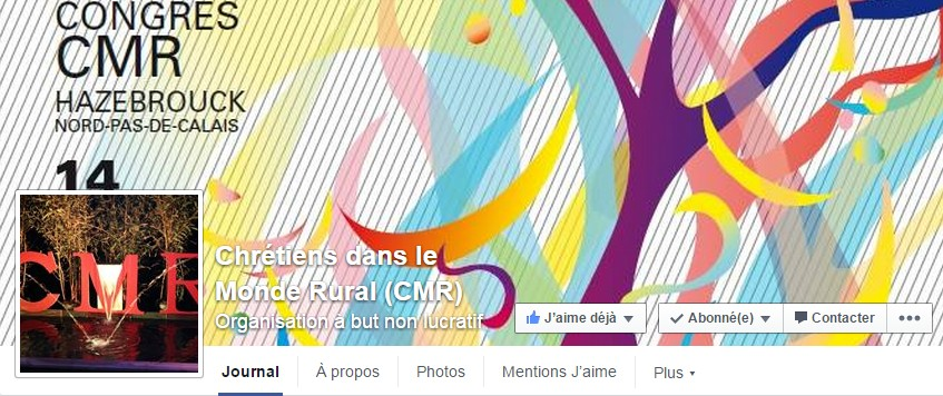 Page facebook CMR national